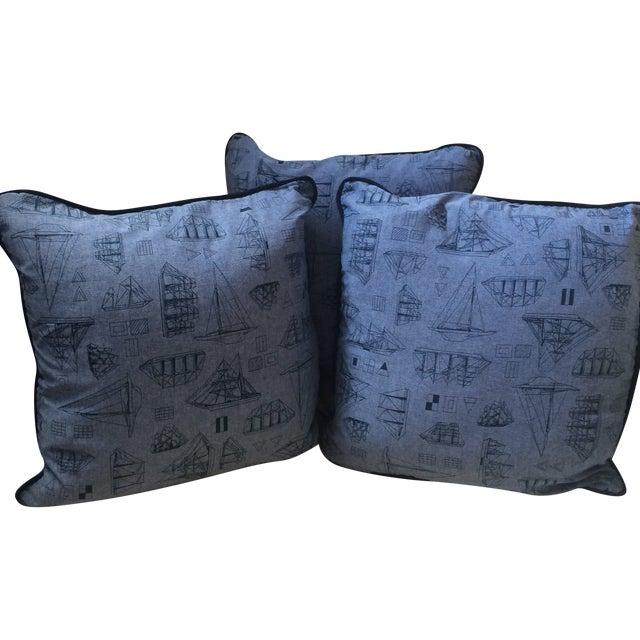 Set of Three Nautical Pillows - Image 2 of 8