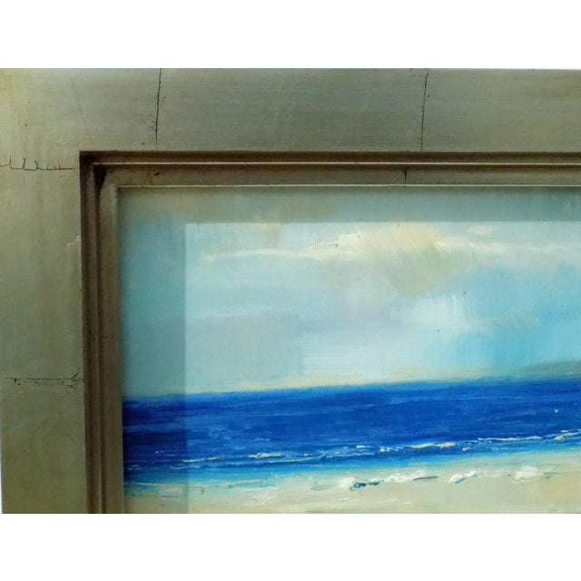 The Beach Oil Painting - Image 5 of 5
