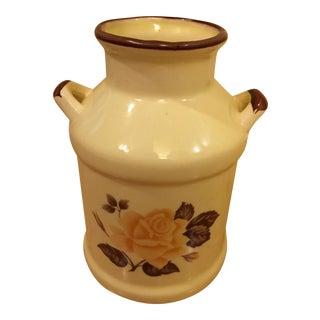 Vintage Milk Can Vase