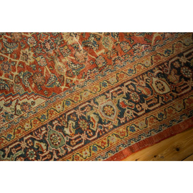 "Antique Mahal Square Carpet - 9'11"" x 9'8"" - Image 8 of 10"