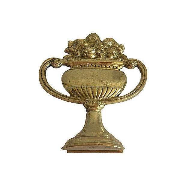 Brass Urn Door Knocker - Image 5 of 7