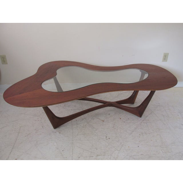 Vintage Biomorphic Coffee Table by Erno Fabry - Image 2 of 9