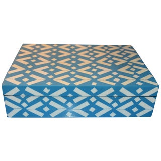 Turquoise Bone Inlaid Box