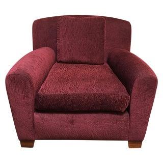 Custom Donghia Upholstered Armchair