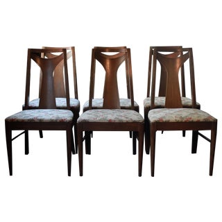 Mid-Century Modern Broyhill Dining Chairs - S/6