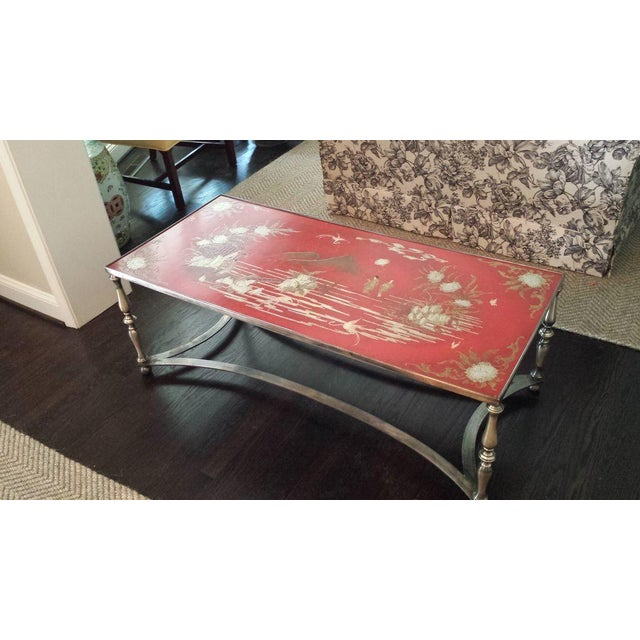 Trouvailles Chinoiserie Cocktail Coffee Table - Image 7 of 8