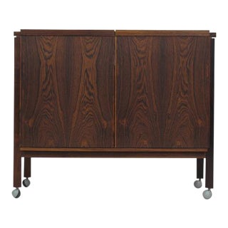 Danish Brazilian Rosewod Bar Cabinet