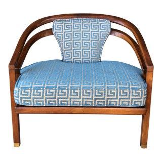 Modern Wood Club Chair