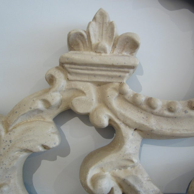 Rococo Heavily Patinated Mirror - Image 6 of 8