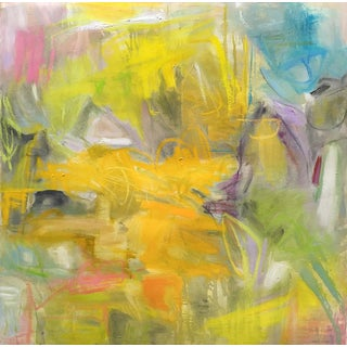"Abstract Painting by Trixie Pitts ""Birds Of Paradise"""