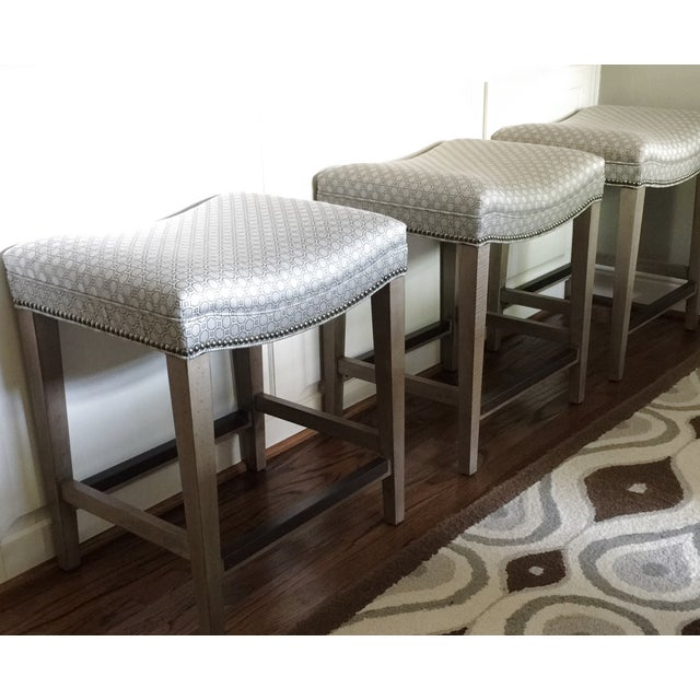 Wesley Hall Dylan Counter Stools - Set of 3 - Image 4 of 5