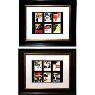 "René Gruau Mini ""Lido Nightclub"" Posters - Set of 12"