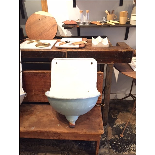 French Vintage Wall Sink - Image 2 of 3