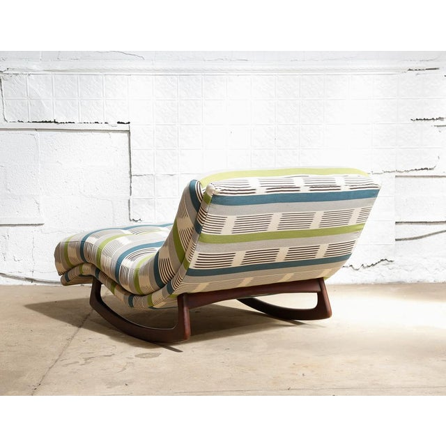 "Adrian Pearsall ""Wave"" Chaise Rocker - Image 5 of 11"