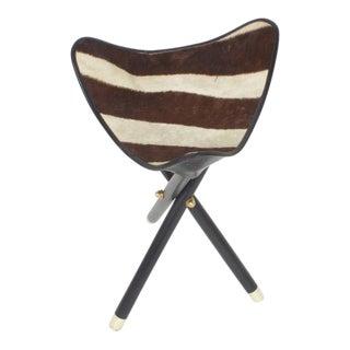 Zebra Folding Stool