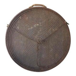 Large Pierced Metal Sieve Grain Sifter