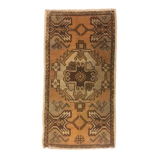 Anatolian Wool Turkish Rug - 1′7″ × 2′11″