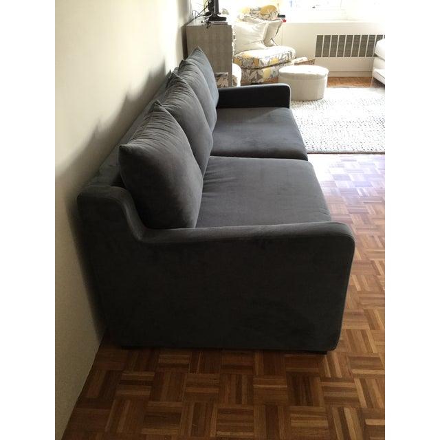 Gus* Modern Flipside Velvet Sofa - Image 6 of 10