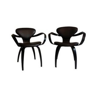 Norman Cherner Mid-Century Pretzel Chairs - A Pair