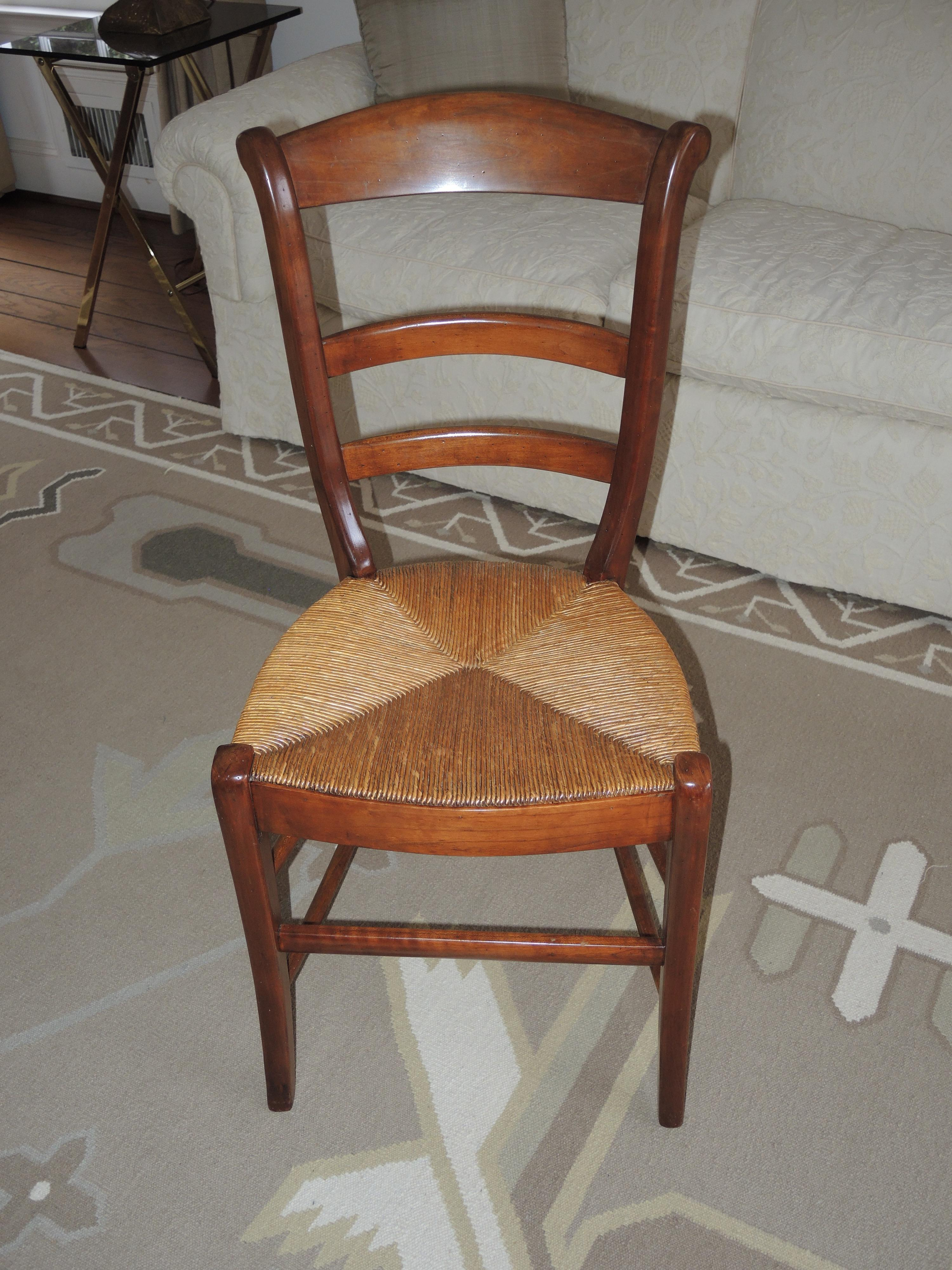 Early American Dining Room Furniture: Early American Dining Chairs - Set Of 6