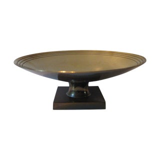 Tommi Parzinger Brass Compote Dorlyn-Silversmith