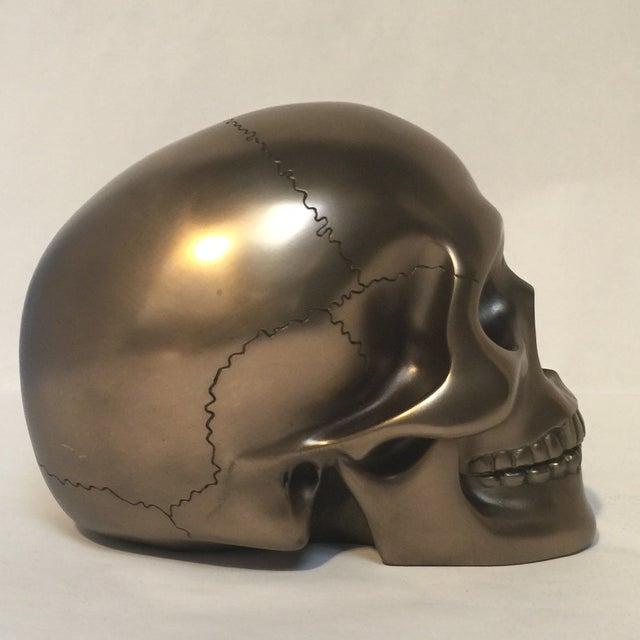 Large Bronze Skull - Image 5 of 8