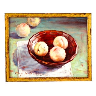 Still Life With Peaches, Framed