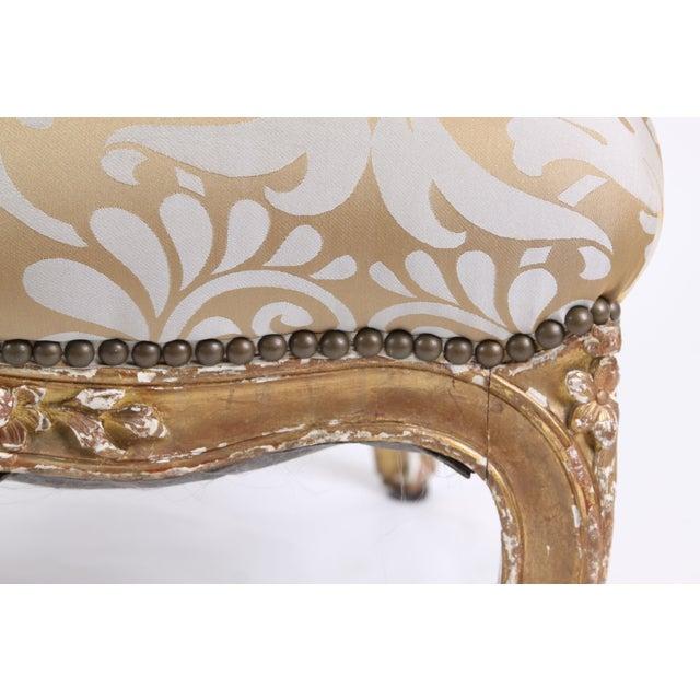 French Antique Napoleon III Armchair - Image 6 of 7