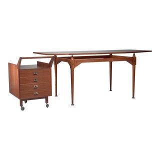 Franco Albini TL3 desk set for Poggi, Italy, Early 1950s