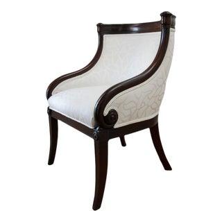 Empire Tub Chair, France 19th Century