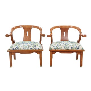 Campaign Tsu Chairs - A Pair