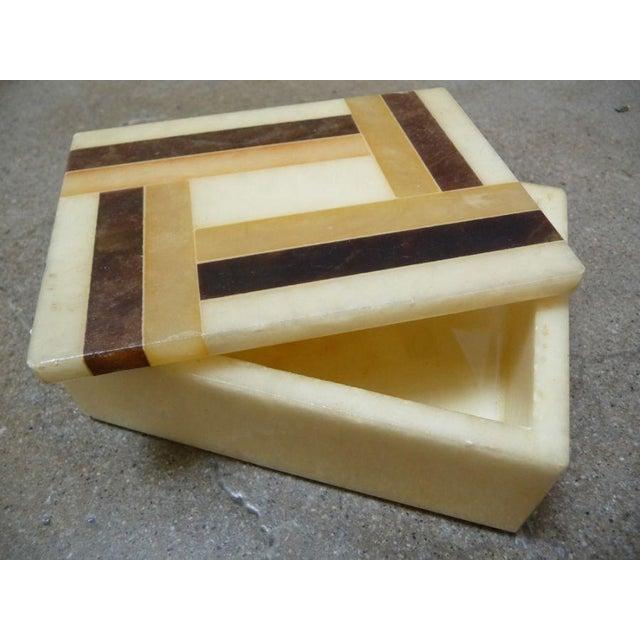 Vintage Italian Alabaster Box - Image 3 of 4