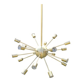 Retro Sputnik Style 18-Light Chandelier