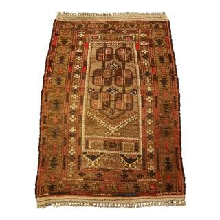 Vintage Baluchi Persian Rug - 2′5″ × 3′9″