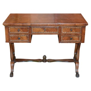 19th C. English Neoclassical Desk