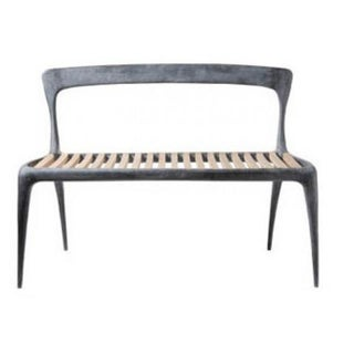 Reeves Henry Hall Cast Aluminum Bench