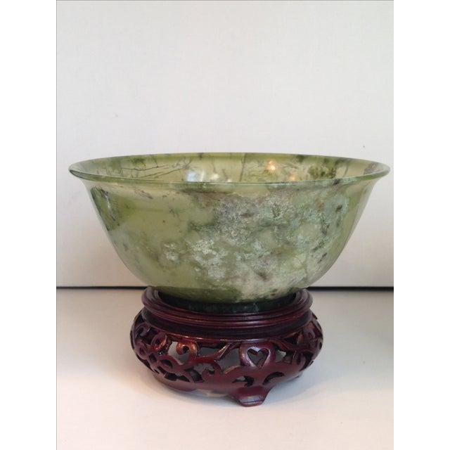 Vintage Jade Bowls - Pair - Image 3 of 4