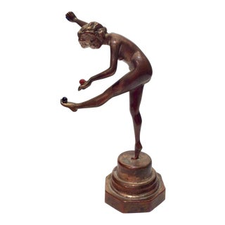 Art Deco Bronze Dancer