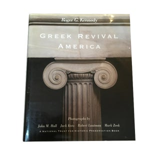 "1989 Roger G Kennedy ""Greek Revival America"" Architecture Book"