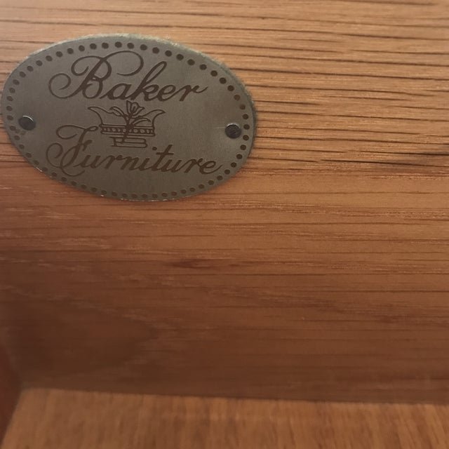 Vintage Baker Dresser With Brass Accents - Image 9 of 10