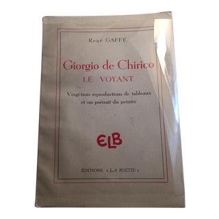 Vintage 1946 Giorgio De Chirico Le Voyant Book