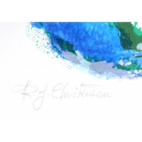 "Image of Ronald Julius Christensen, ""Moon Mist,"" Lithograph"