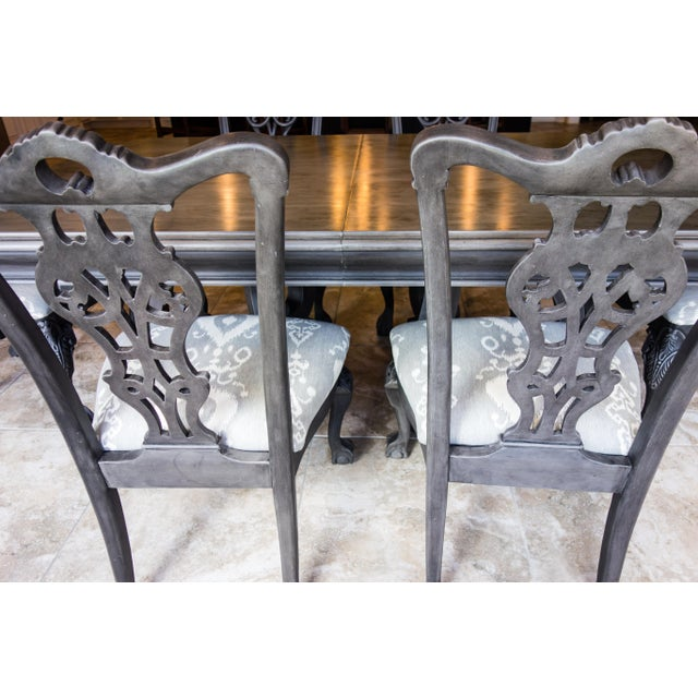 Reproduction Chippendale Dining Set - Image 10 of 11