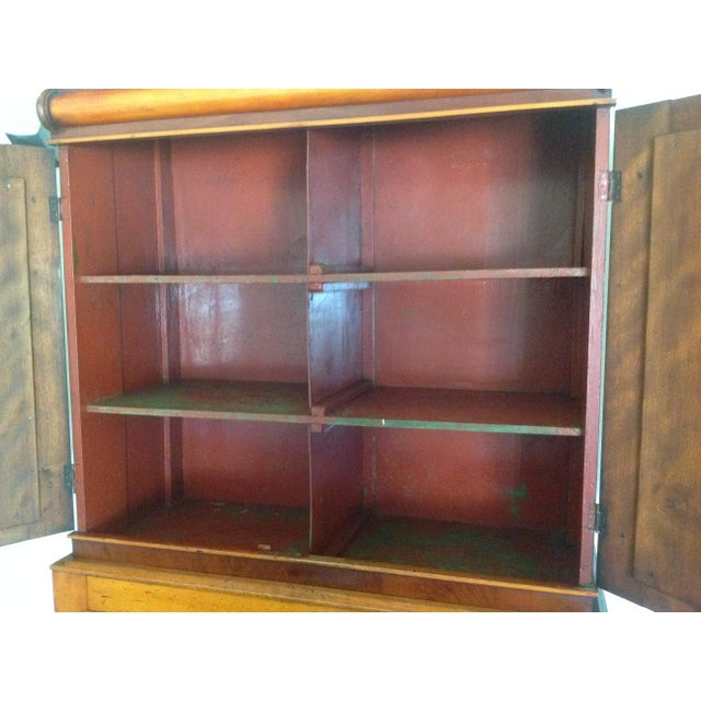 Antique American Pine Armoire - Image 5 of 11