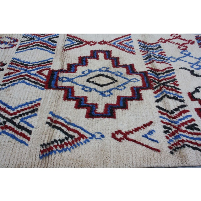 Image of Moroccan Rug - 4' x 5'6''