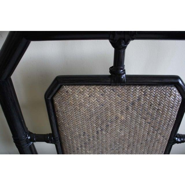 McGuire Harlan Side Chair in Gunmetal - Image 6 of 8