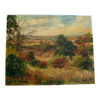 Original European Landscape Painting