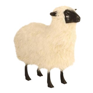 'Old Plank Collection' Sheep Sculpture