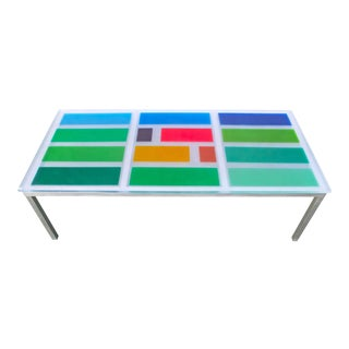 """Mondrian""​ ​Dining​ ​Table"