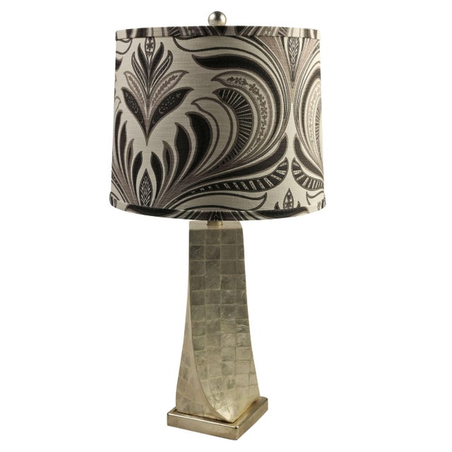 Cappa Shell Swirl Lamps - A Pair - Image 1 of 4